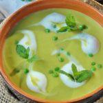 Рецепт диетического супа-пюре из зеленого горошка