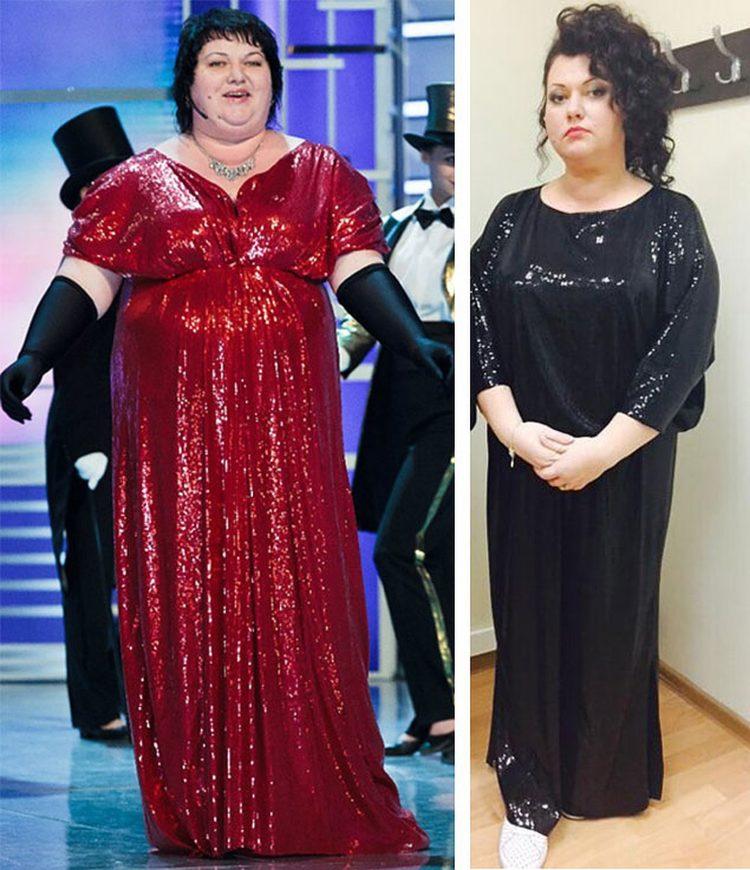 Фото Картунковой До И После Похудения.